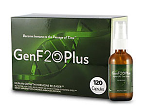 Genf20 Plus Packet with 120 Capsules